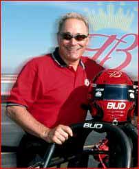 Kenny Bernstein Team Budweiser