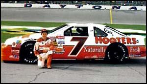 Alan Kulwicki at Daytona