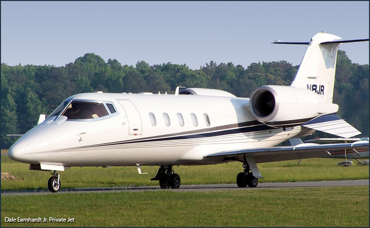 Dale Earnhardt Jr. Private Jet