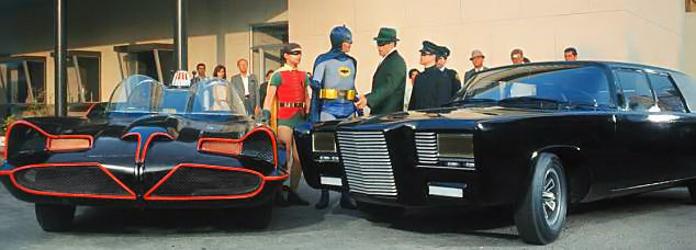 Batmobile and Green Hornet