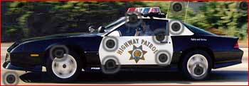 Highway Patrol Camaro