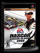 Nascar Thunder 2005 game box