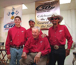 4generations of Racing Petty's