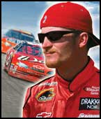 Nascar Thunder 2003 Original Cover Shot with Dale Earnhardt Jr.
