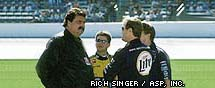 Mike Helton, Rusty Wallace, Ward Burton