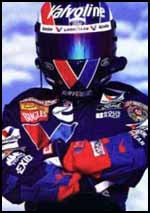 Mark Martin Ready for Nascar Racing, Awesome