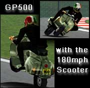 GP500 Scooter