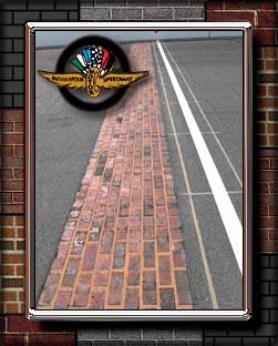 The Brickyard brick starting line